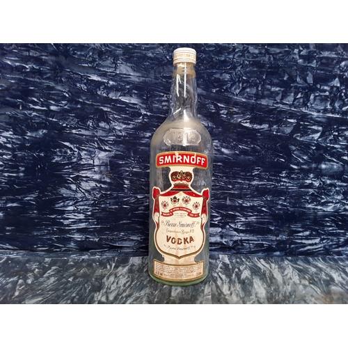 16 - 3 ltr Smirnoff bottle...