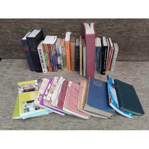 18 - Collection of books on Wales and novels including pride and prejudice...