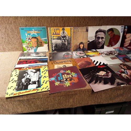 42 - Collection vinyl LPS including Bruce Springsteen Don McLean and Elvis picture disc...