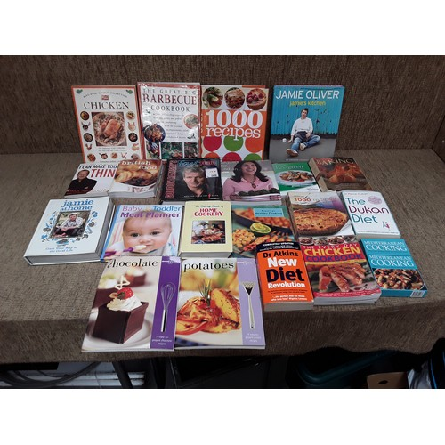55 - Selection of cookery books...