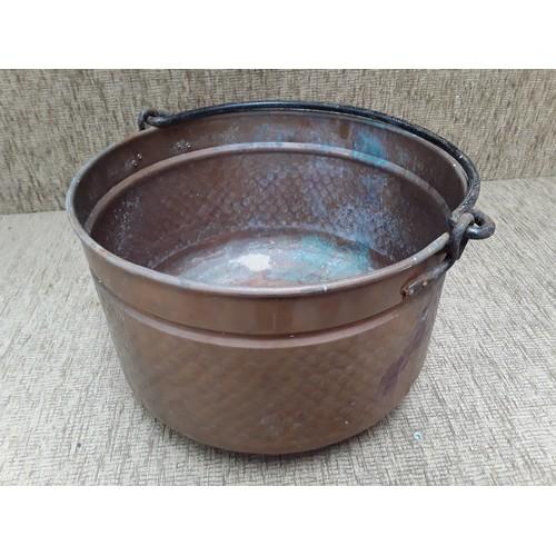 1 - Large Copper Jam pot...