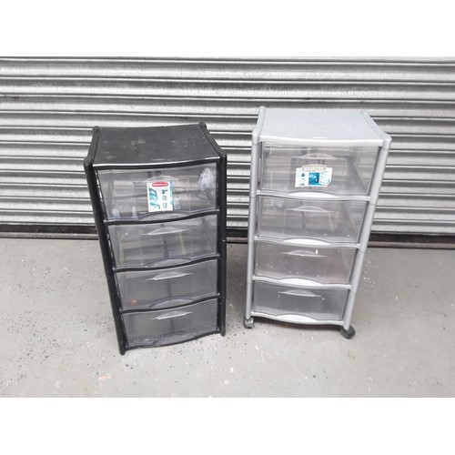 24 - Two storage containers...