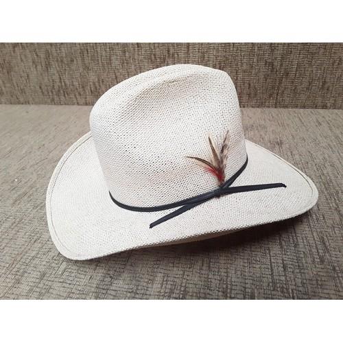 22 - Two cowboy hats...