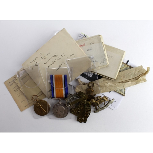30 - 1915 Star Trio to T4-141581 Pte J Watts ASC. With India General Service Medal GV + Afghanistan NWF 1...