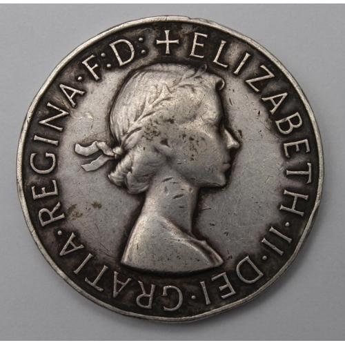 41 - African General Service Medal EIIR disc only, named EA 18114689 Pte Sevelen Emelen EAAOC....