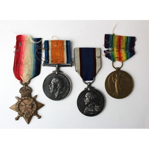 27 - 1915 Star Trio to J.12153 W Poole AB RN, with GV Royal Fleet Reserve Medal named J.12153 (DEV.B.1210...