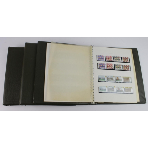 2391 - GB - collection in green ring binders, c1965 to 1979. Lacking earlier phosphor commemoratives, but j...