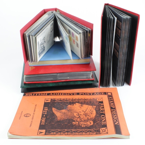 2395 - GB - early to modern used, and FDC's in 5x albums (covers late 1960's to late 1970's) approx 140, wi...