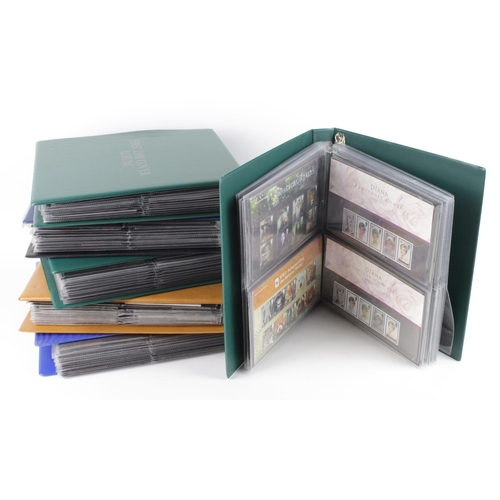 2399 - GB - large collection of Presentation Packs in albums, a few pre decimal, one album of 1980's, rest ...