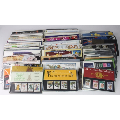 2406 - GB - small tray of Presentation Packs c1980's to 2002. Noted Shakespeare (faults). Some definitives ...