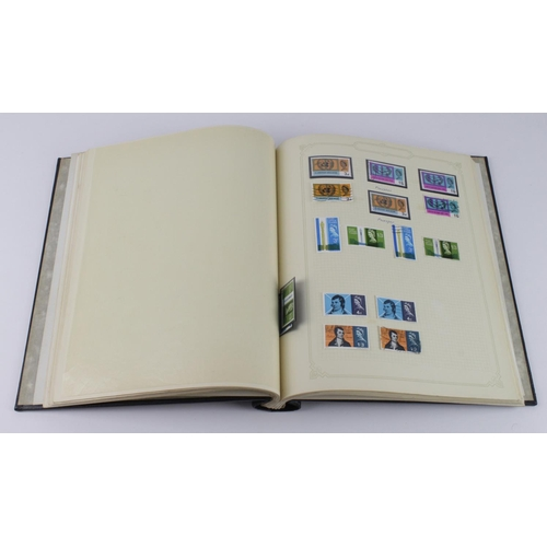 2424 - GB black Viscount stamp album with QV to 1975, better noted incl 1951 HV sets mint and used....