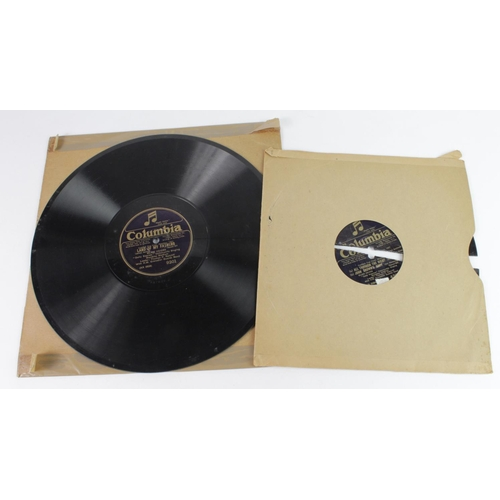 869 - Cardiff City FC - rare 78rpm record of the Community Singing at the Arsenal v Cardiff FA Cup Final