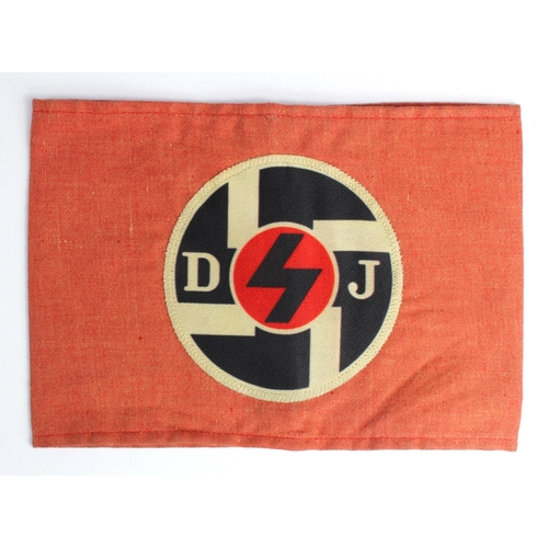 1001 - WW2 DJ (10-14 Year Olds) Hitler Youth Armband....