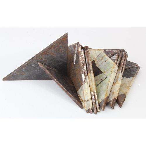 1003 - WW2 French Resistance 2 Part Caltrop- The idea being it could be carried by 2 separate people to avo...