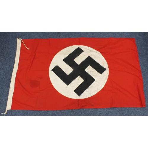 1006 - WW2 German 3 piece sewn N.S.D.A.P Flag Dated 1933.90 cm x 155 cm....