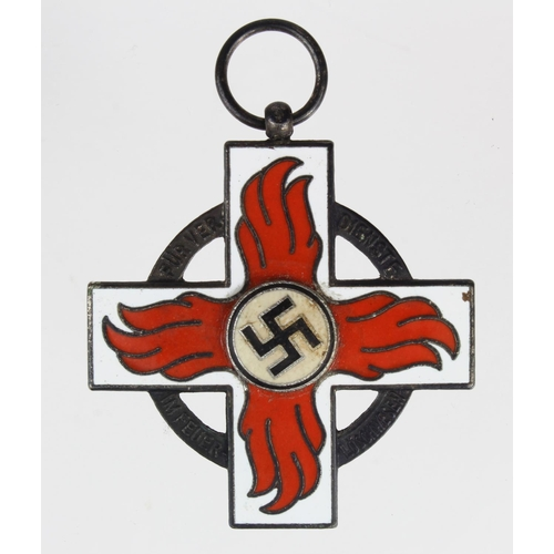 1017 - WW2 German Fire mans Medal....