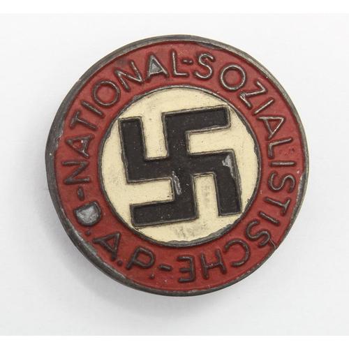 1025 - WW2 German N.S.D.A.P Ersatz Button Hole Badge...
