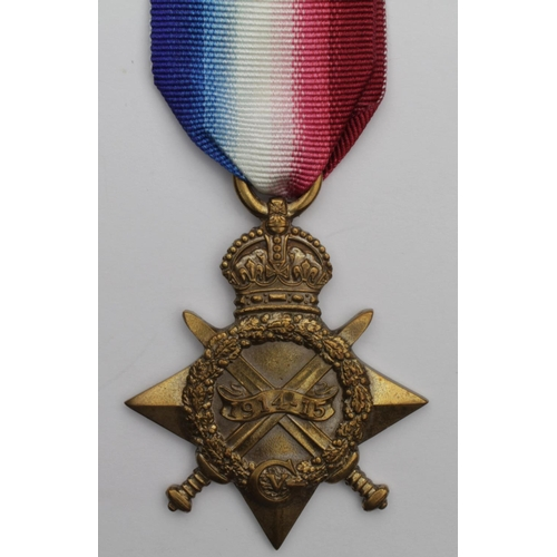 22 - 1915 Star to 13816 Pte M Nolan York Regt. Killed In Action 7/6/1917 with the 8th bn. Born Murton, Du...
