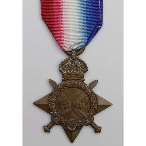 29 - 1915 Star to 18-557 Pte J Marsh Durham L.I. Killed In Action 1/8/1916 with the 18th Bn. Born Sunderl...