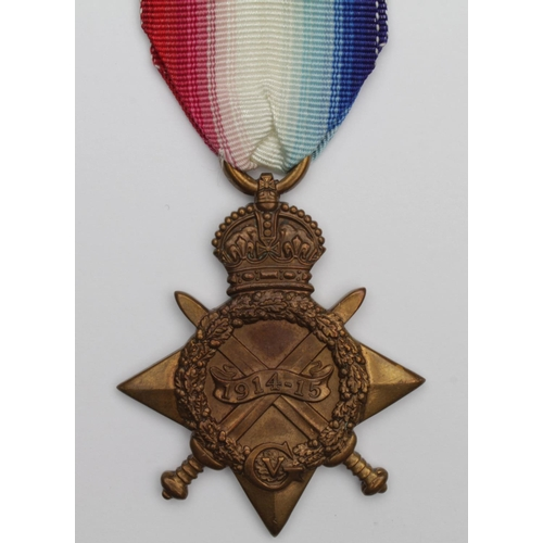 35 - 1915 Star to 49880 Pte W Holborn RAMC. Killed In Action 11/10/1918. Born Sunderland. Buried St Auber...