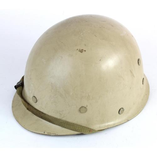 968 - Gulf War Iraqi M-90 Helmet-Veteran bring back in very good condition....