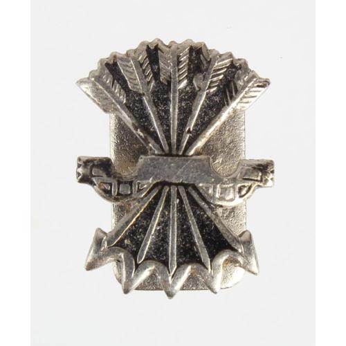 972 - Spanish Civil War Condor Legion Veterans Pin with unique serial number....