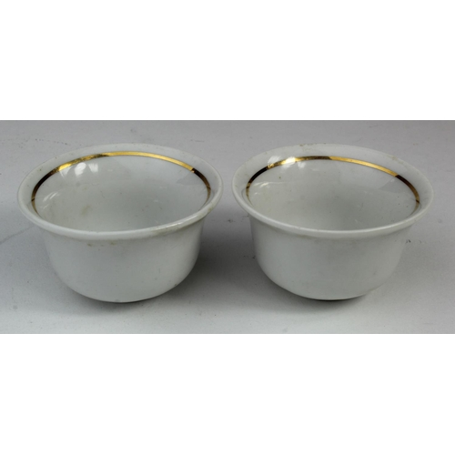 991 - WW1 Pair of Ottoman Empire Turkish Tea Cups....