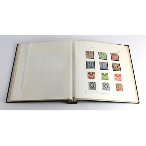 13 - GB - collection in album, 1924 to 1951 mint, um, and used. Up to 1935 m, um there after. Just about ...