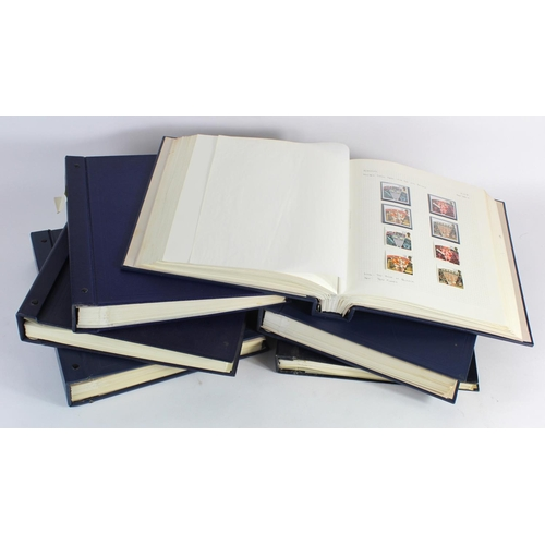 17 - GB - Decimal Commemorative collection unmounted mint and FU or VFU in 6x Devon Albums. c1971 to 2003...