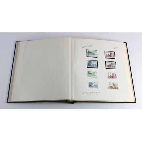 19 - GB - high values 1969 to 1993 unmounted mint and used collection in album. Pre decimal Machins, deci...