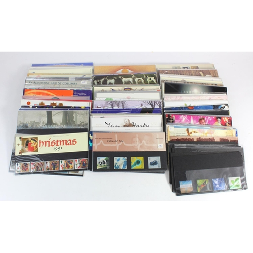 28 - GB - Presentation Packs (approx 130) in plastic crate, c1991 to 2000. Mostly two of any one issue. A...