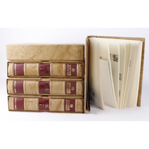 41 - GB - used and fine used collection housed in Windsor Sovereign Albums with slip cases. Victoria to m...