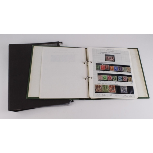 53 - GB albums 1841-1970 stamps range inc extensive line-engraved, surface-printed, officials. (2 albums)...