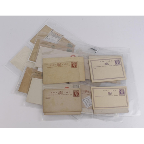 56 - GB collection of mint ½d value official postcards 1870 to c1915 (approx 30)...