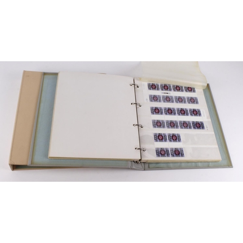 57 - GB decimals unmounted mint collection 1975-78 various commemorative issues in multiples being mainly...