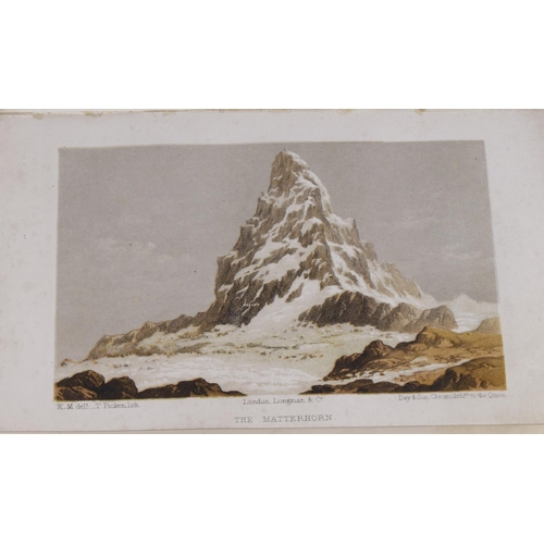 624 - Hinchliff (Thomas W.). Summer Months Among the Alps : With the Ascent of Monte Rosa, 1st edition, pu...
