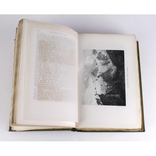628 - Moore (A.W.). The Alps in 1864, A Private Journal, edited by Alex B.W. Kennedy, published Edinburgh,...