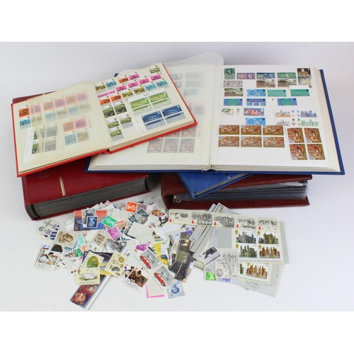 16 - GB - collection of QE2 stamps and Presentation Packs. Includes approx 66 packs, pre decimal, regiona...