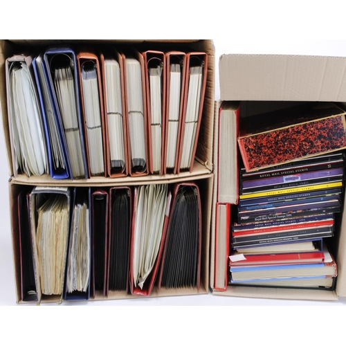 5 - GB - a predominantly QE2 collection with impressive face value in various stockbooks and albums (app...