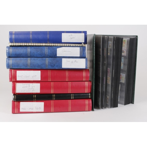56 - GB and Channel Islands - original unpicked collection in mainly large stockbooks, stamps from 1840 (...