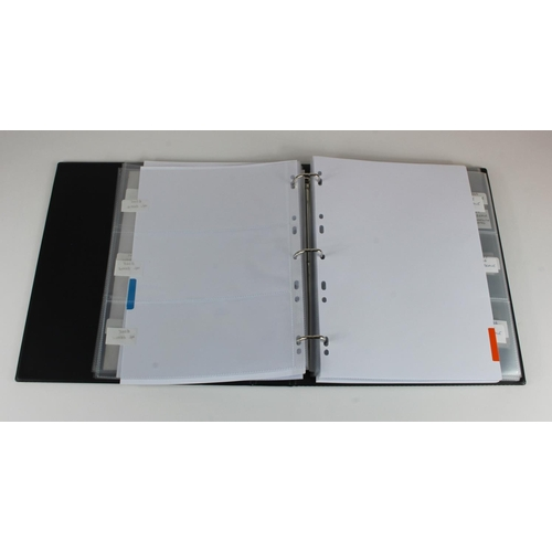 2 - Banknote albums (6), good quality albums with with sleeves and dividers, used but well cared for