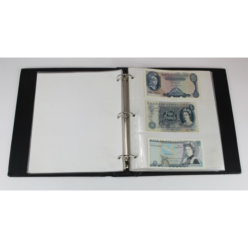 23 - Bank of England (28), a collection in Banknote album with signatures ranging from Beale to Salmon an...
