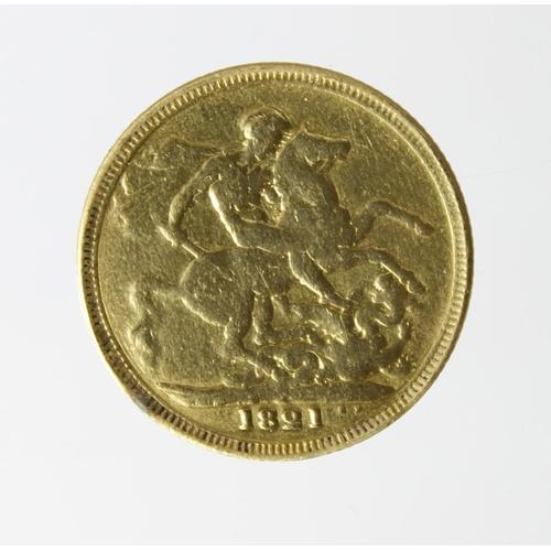 1245 - Sovereign 1821 cleaned ex-mount Fair....