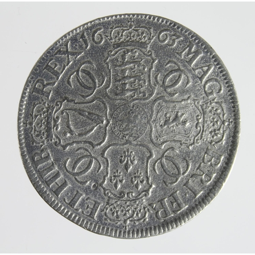1267 - Crown 1663, white metal cast reproduction of the 'Petition Crown' S.3354A, VF...