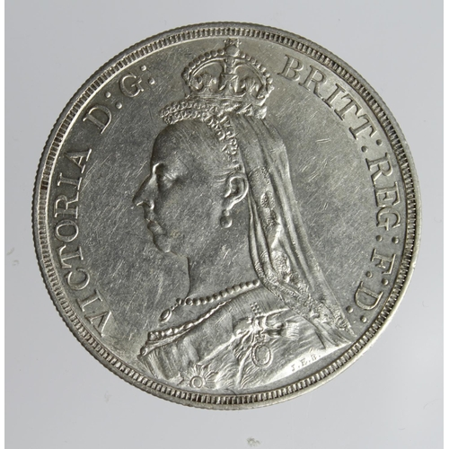 1275 - Crown 1887 cleaned nEF...