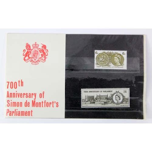 29 - GB - 1965 700th Anniversary of Simon de Montfort's Parliament Presentation Pack, cat £65...