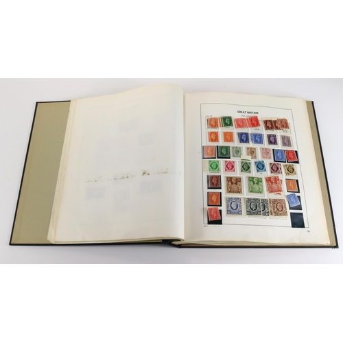 57 - GB - mint and unmounted mint in Davo album from 1841 to 1970. A high cat value collection that deman...