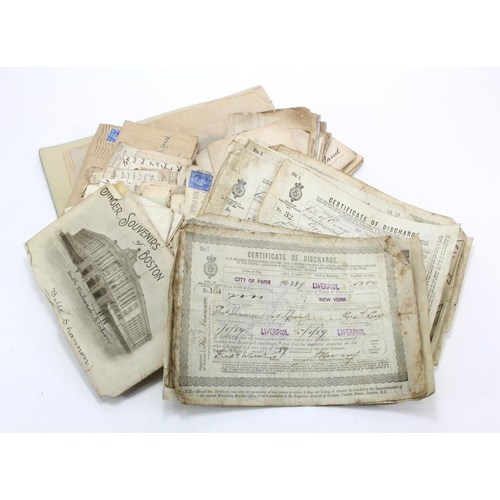 59 - GB - original correspondence, mainly late Victorian range of envelopes with letters / stamps to Thom...