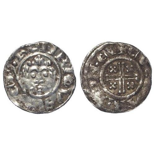 774 - Richard I (1189-1199), Short Cross Penny (in the name of Henry), class 4a, York, EVERARD, SCBI (Mass...