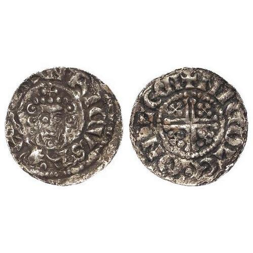 812 - John (1199-1216), Short Cross Penny (in the name of Henry), class 5b2, Kings Lynn: NICOLE.ON.LEN, 1....